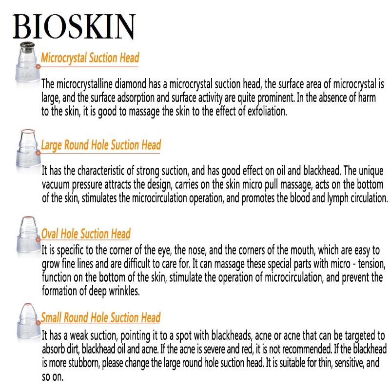 BIOSKIN Blackhead Sucking Machine med vakuumtryck Adsorption att suga - Sjukvård - Foto 5