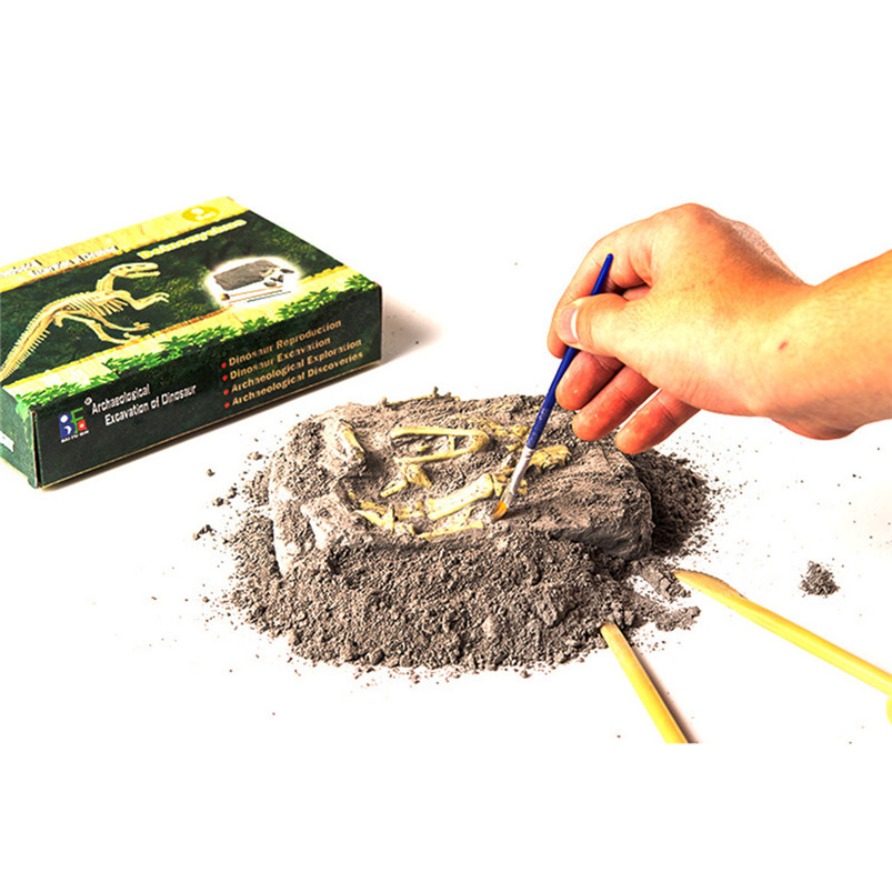 DIY Assembly Toys Gift Dinosaur Science Kit-Dig Up Dino Fossils And Assemble Excavation Toys For Kids Educational Toys 40MY06