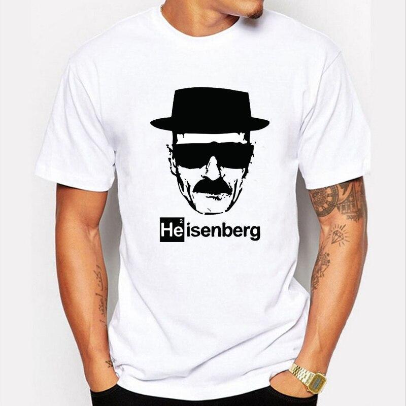 2017 New BREAKING BAD Men's T-shirts Heisenberg Danger Short Sleeve O-neck Tshirt Men Summer Style Fashion Mens T shirts