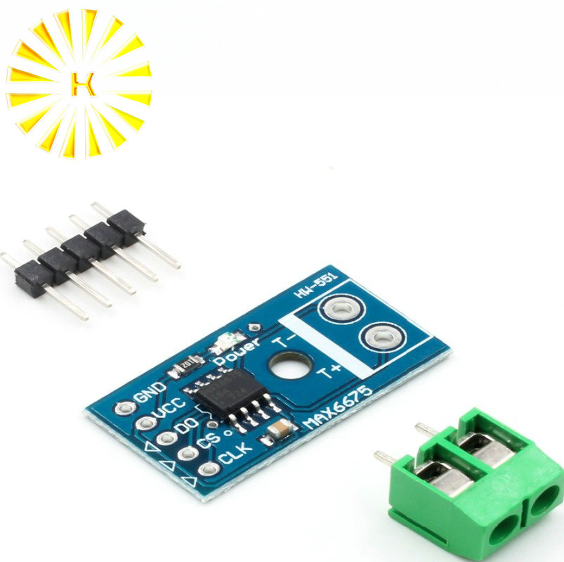 MAX6675 K type thermocouple temperature sensor converter board