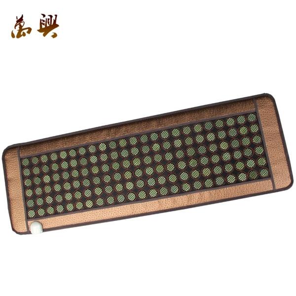 Good&High Quality Tourmaline Mattress Infrared Heating Jade Massage Mattress Heat AC220V 150x50cm Free Shipping 2016 jade tourmaline electric heating massage mattress with far infrared high quality products directly from factory 1 2x1 9m
