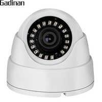 GADINAN CCTV caméra analogique 960 H 800TVL 1000TVL IR Cut 18 pièces microcristallin infrarouge Vision nocturne Mini dôme caméra ABS boîtier