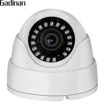 GADINAN kamera telewizji przemysłowej analogowy 960H 800TVL 1000TVL IR Cut 18 sztuk mikrokrystaliczna widzenie nocne z wykorzystaniem podczerwieni Mini kamera kopułkowa etui z abs