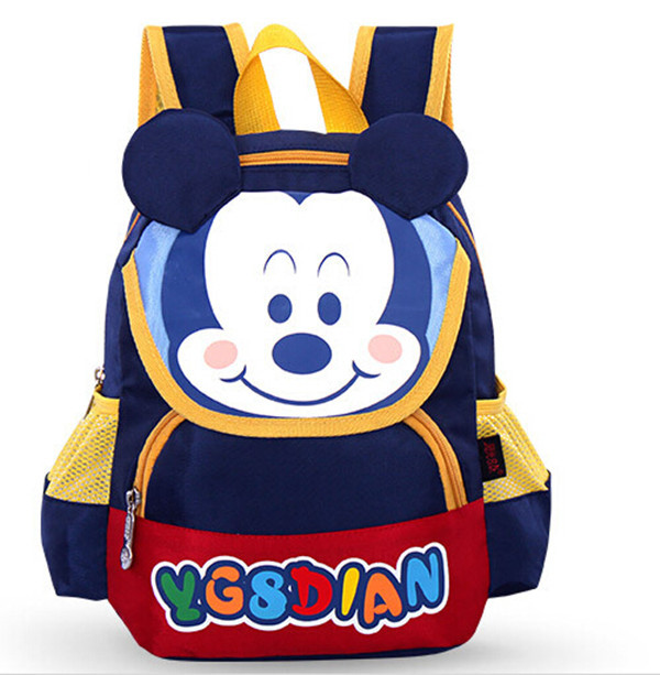 Cartoon Animals Fashion Children School Bags Nursery Students Bags Girls  Boys Travel Backpacks Leisure Kids School Bag 2015-in School Bags from  Luggage ...