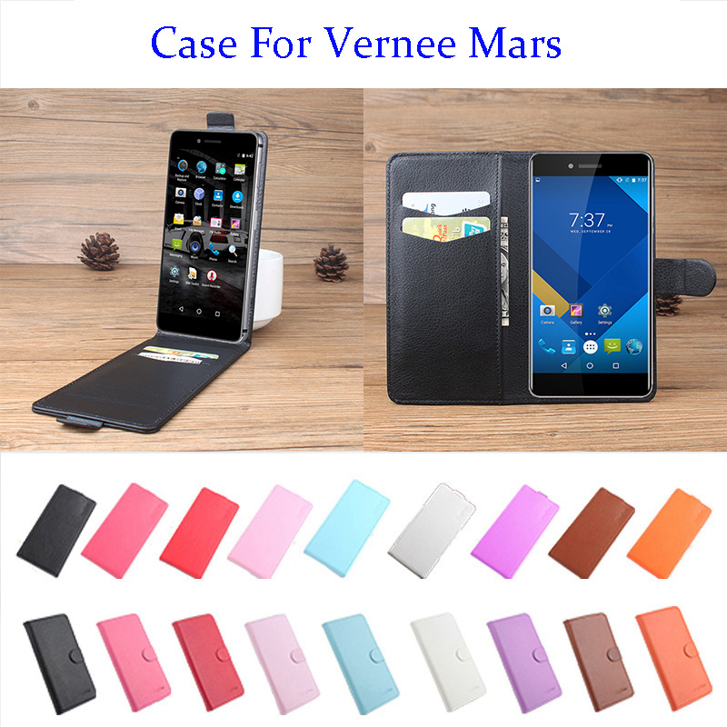 5.5 Inch 9 Color Litchi Leather High Quality For Vernee Mars Phone Case Flip Covers For Vernee Mars Phone Cases In Stock