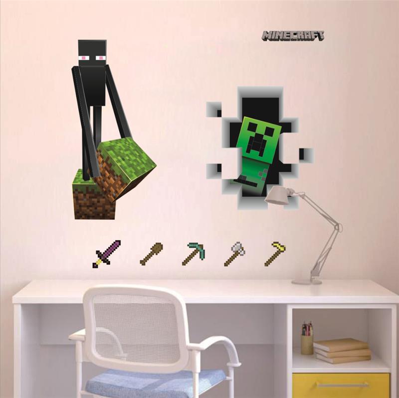 popular juego de pegatinas de pared para nios sala de decoracin para el hogar diy wallpapers
