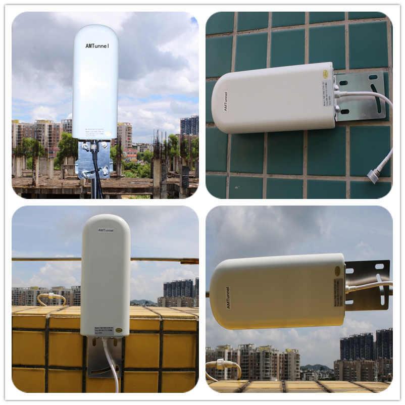 GSM антенна усилитель 3g 4G LTE Антенна 20dBi 3g внешняя антенна с 10 м кабелем 698 2700 МГц для 2G 3g 4G целлюар повторитель сигнала
