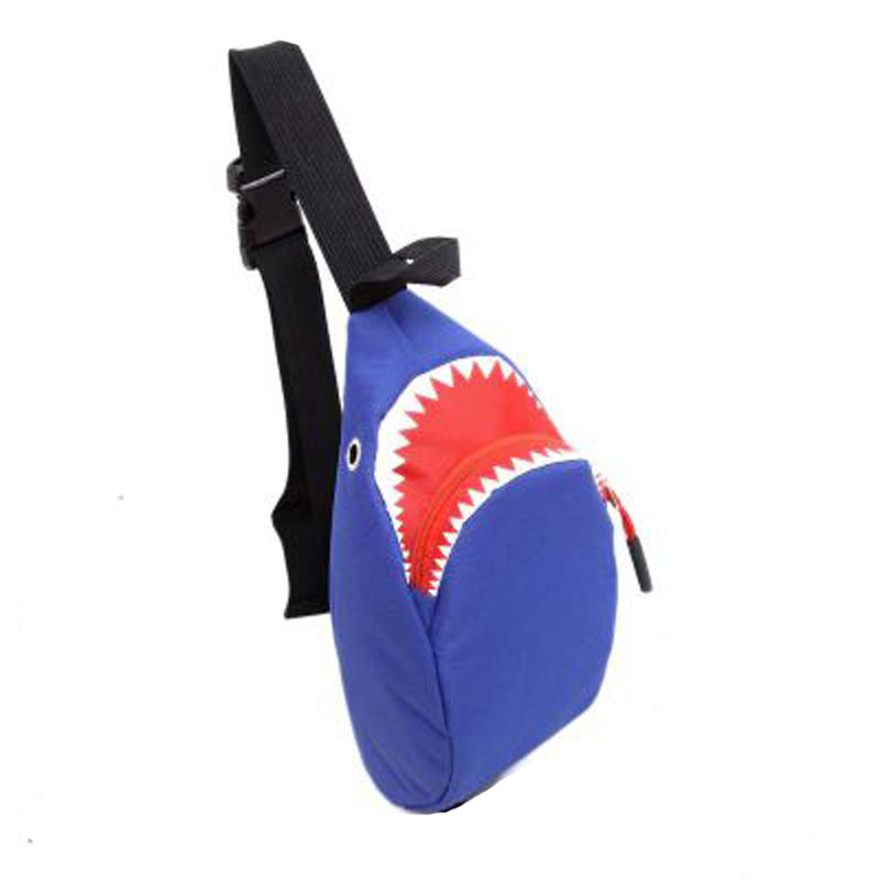 QingGuiLv Ride Travel Shark Make Sac Marsupio Bananka Travel Leisure Fanny Pack Uomini e donne Walking Alpinismo Belly Band