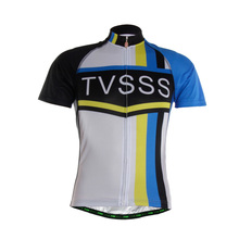 2016 TVSSS Men's Classic Short Sleeve Cycling Clothes with TVSSS Logo Breathable Mountain Bicycle Tops Shirts Ropa Ciclismo