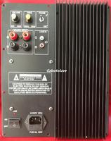 300W Subwoofer amplifier board low pass filter subwoofer pure home theater active subwoofer amplifier