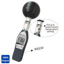 Buy Black Ball Thermometer Tester Handheld Heat Index WBGT Meter AZ-8778