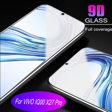 100pcs Glass Protective Film 9D Full Cover Tempered Glass For Vivo X27 X27PRO IQOO  Screen Protector   Anti Blue Ray  Glass film 100pcs dental universal x ray film mount frame 100pcs 2holes
