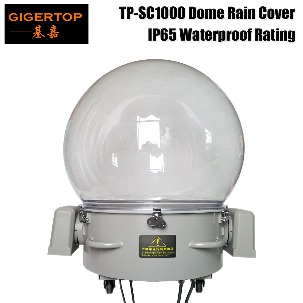 Freeshipping Big Size Dome Rain Cover For 1000W Led Moving Head Light/450W Moving Head Spot Light Good Cooling Anti-Ultraviolet