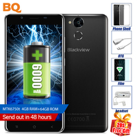 Original Blackview P2 Smartphone MTK6750T Octa Core 5 5 Inch 4GB RAM 64GB ROM Android Cellphone
