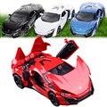 1:32 niños juguetes Fast & Furious 7 Lykan Hypersport Mini metal tire hacia atrás de coches de juguete de coches miniaturas de regalos para niños de los niños