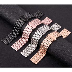 Image 5 - מתכת נירוסטה שעון להקת עבור Garmin Forerunner 245 645 Smartwatch 20mm יד צמיד עבור Garmin Venu/Vivoactive 3 רצועה