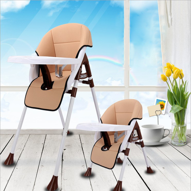 for newborn feeding high chair Dining Chair Children Dining Chair Foldable Multifunctional Portable Baby Highchairs baby seat