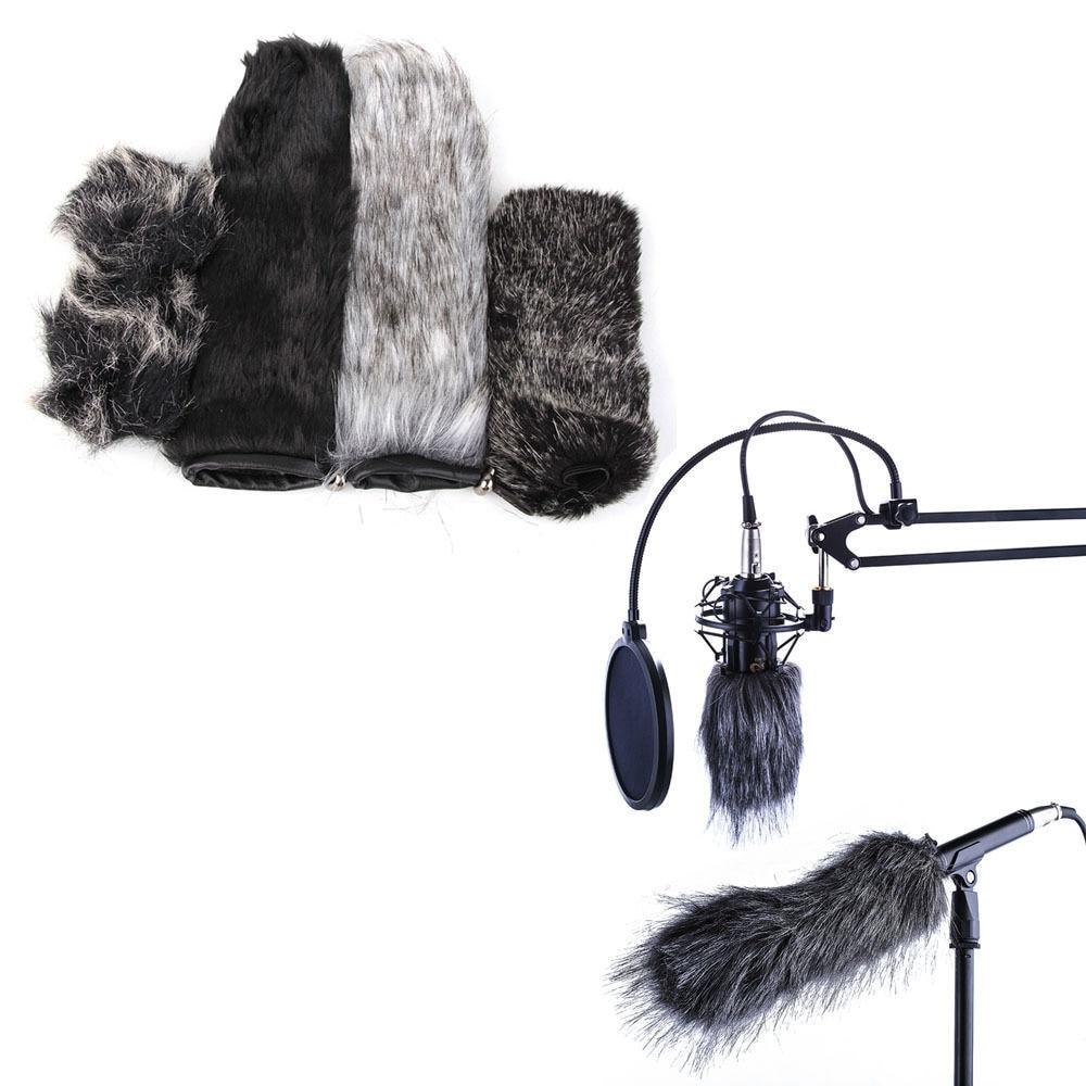 9cm Microphone Windshield Fur Muff Windscreen For Camcorder Camera Mic Recorder