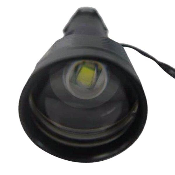 U-F T8 CREE XML T6 Scalable 3-Mode Double Lens LED Tactical Flashlight (2x18650)