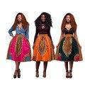 2017 Женщин Африканских Одежды Африканских Платья Традиционное Общество С Ограниченной Настоящее Полиэстер Одеяние Африканской Печати Женской Одежды