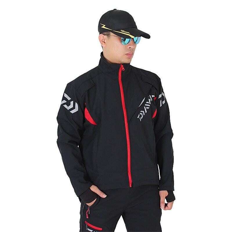 2017 NEW DAIWA Fishing clothes Autumn And Winter jacket parka Breathable outdoors DAWA Keep warm Windproof DAIWAS Free shipping