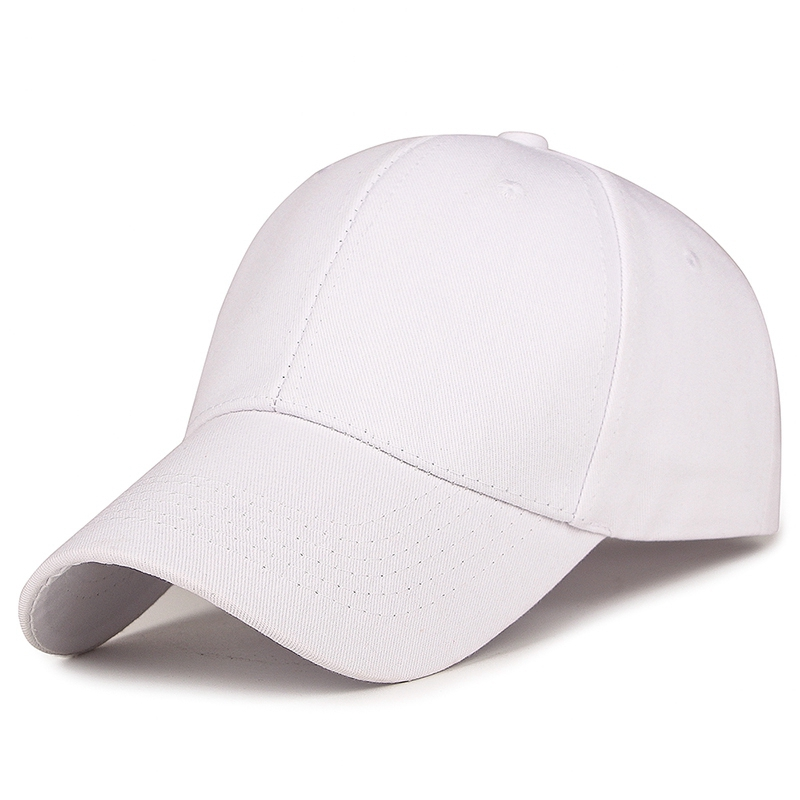 2019New Fashion adjustable hat solid color high end baseball cap unisex visor golf cap Spring and Autumn Baseball Cap sunhat in Men 39 s Baseball Caps from Apparel Accessories
