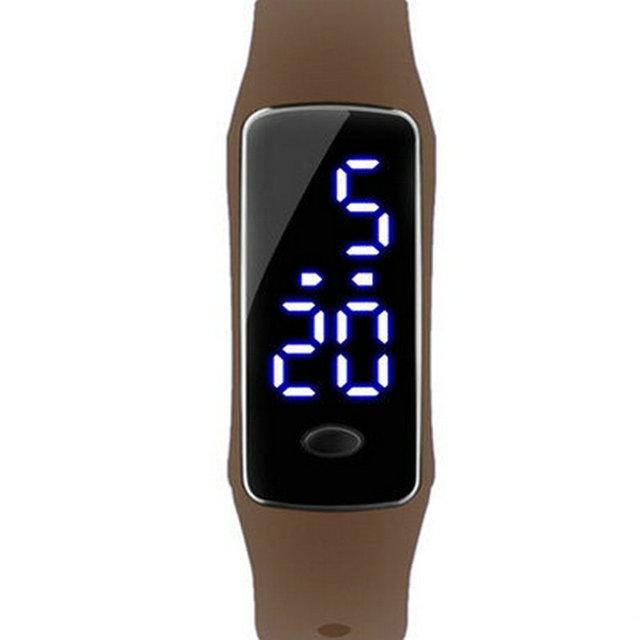 Multi-función de marea estudiantes varones miran el LED chicos regalo pulsera relojes deportes de los hombres de moda a prueba de agua reloj digital relojes