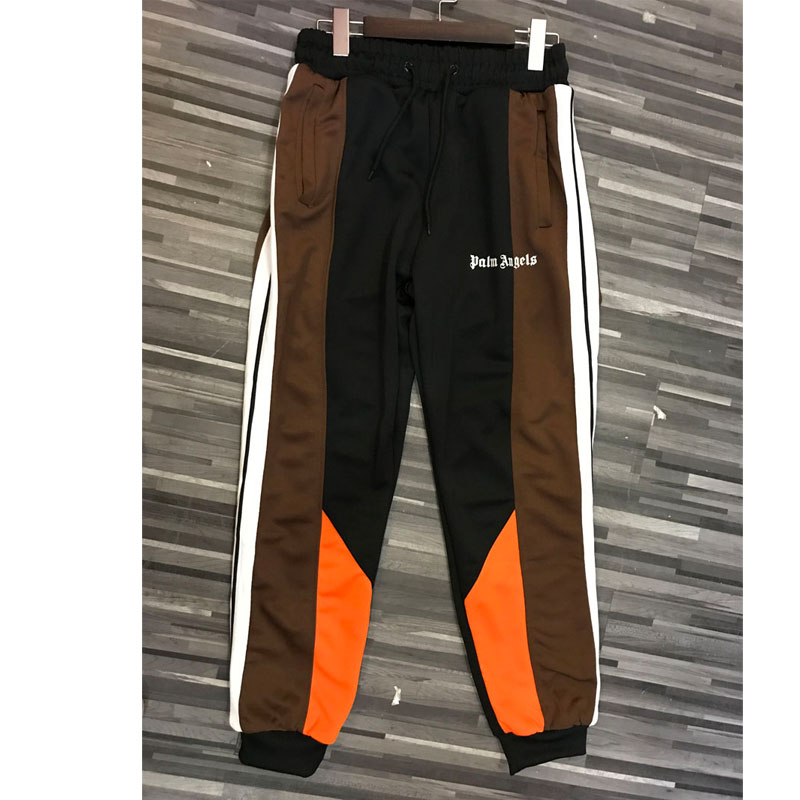 Sweatpants Palm Plaid Stripe Zipper Fashion 1:1 Latest-Model