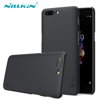 OnePlus 5 Case Nillkin Frosted Shield Hard Plastic Back Cover Case For OnePlus 5 OnePlus5 A5000