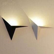 Blanc/Noir Nordique Moderne En Métal Chambre Mur Lampe Moderne Led Lumière Salle De Bains Miroir Lumière Cuisine Décor Éclairage Intérieur WLL-324
