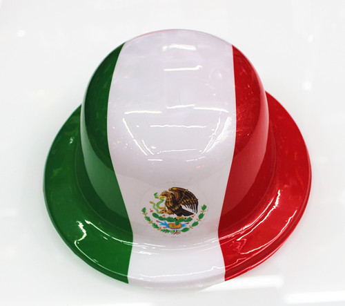 Most Popular Party Supplies Pvc Round Caps Mexico Best Seller In