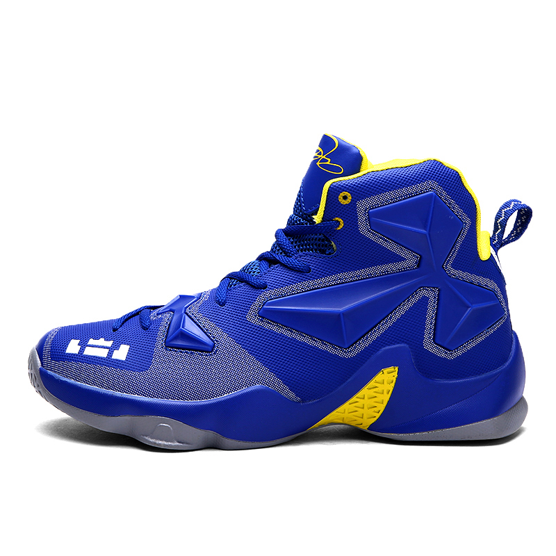 Size 36 44 Kids Boys Mens Basketball Shoes Strong Grip Mid ...
