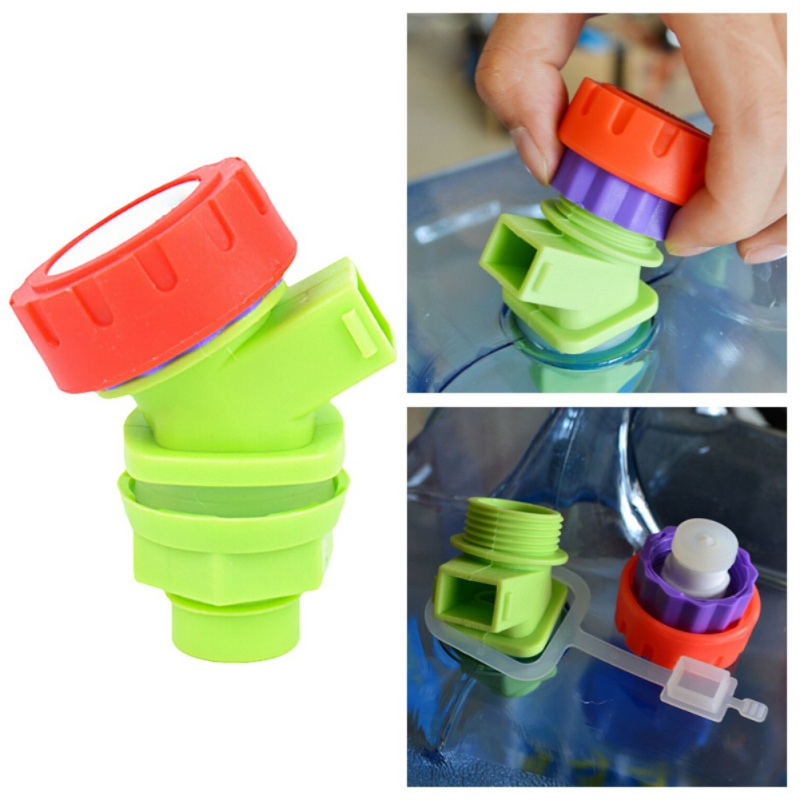 Replacement Knob Type Plastic Faucet Tap for Water Bucket Wine Juice Bottle