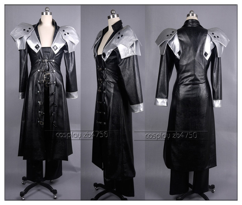 Final Fantasy Vii 7 Sephiroth Cosplay Costume Any Size