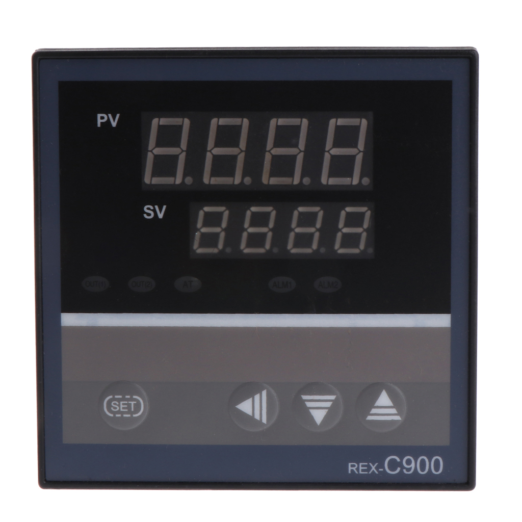 2018 High Quality PID Temperature Controller REX-C900 Universal Input Multi-input SSR Relay Output 96*96mm Thermostat Regular
