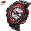 New Fashion TTLIFE Brand relojes de los pares Couple Watches Dual Time Display Lovers Wristwatches Luxury Brand Waterproof Style