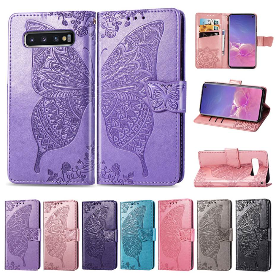 <font><b>Flip</b></font> Leather Case For <font><b>Samsung</b></font> galaxy S10 e S9 S8 J2 Core J4 J6 J8 A7 2018 Plus A10 A30 A40 <font><b>A50</b></font> M10 M20 S7 Note 8 9 Wallet <font><b>Cover</b></font> image