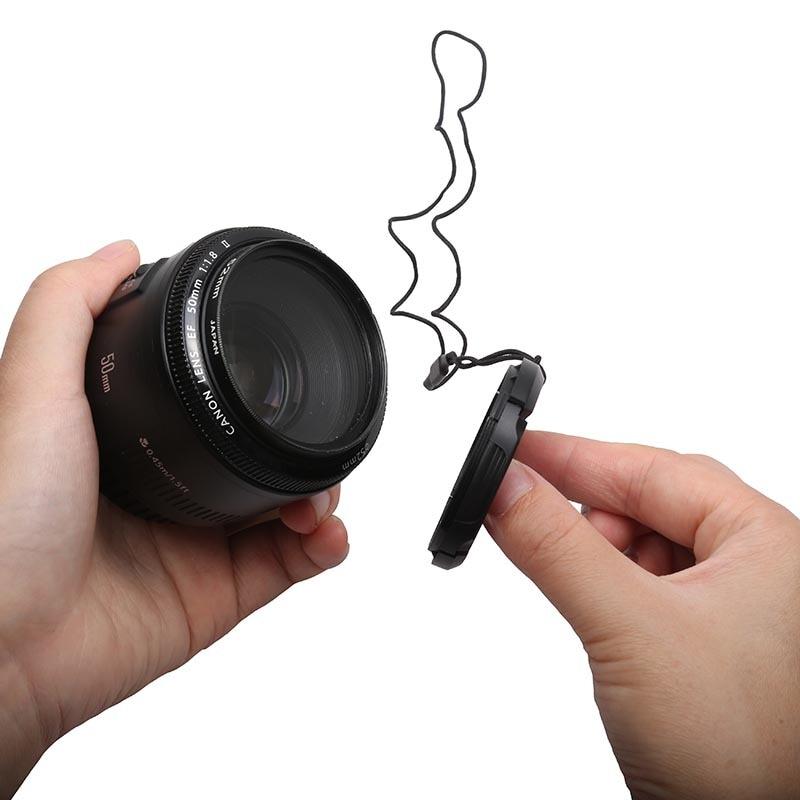 Кришка об'єктива для камери 62 мм - Камера та фото - фото 2