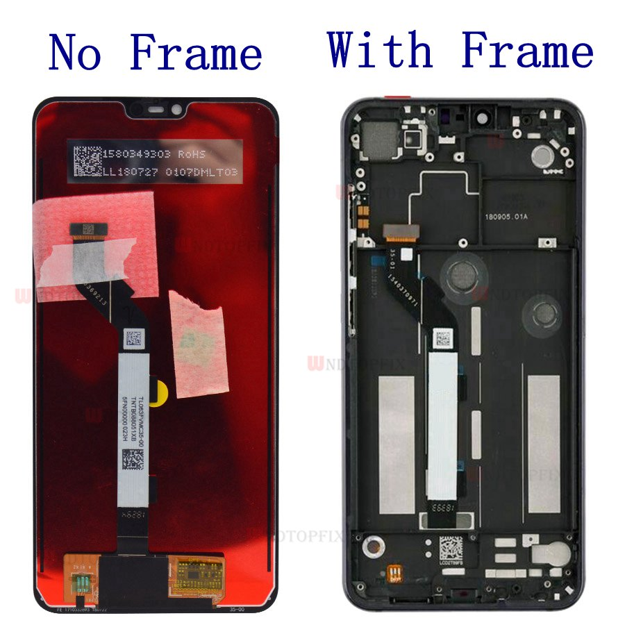 Mi 8 Lite's LCD