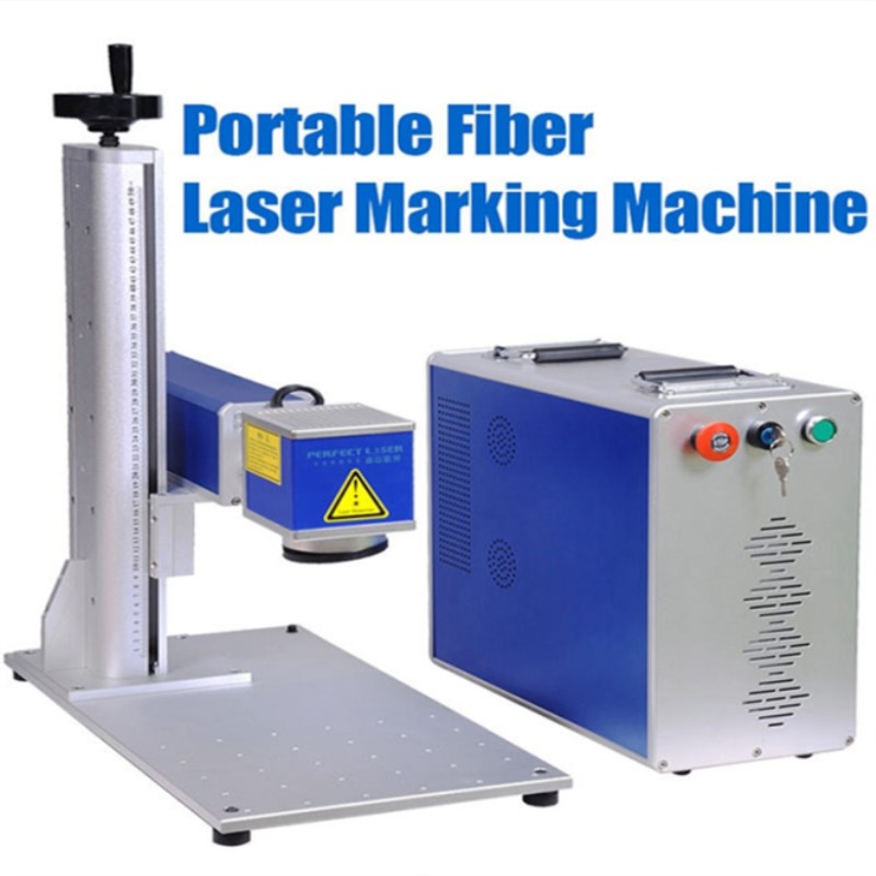 Good Performance 20W/30W Fiber Laser Marking Machine For Auto ,motocycle Parts,packaging For Goods,beverage , Cigarette