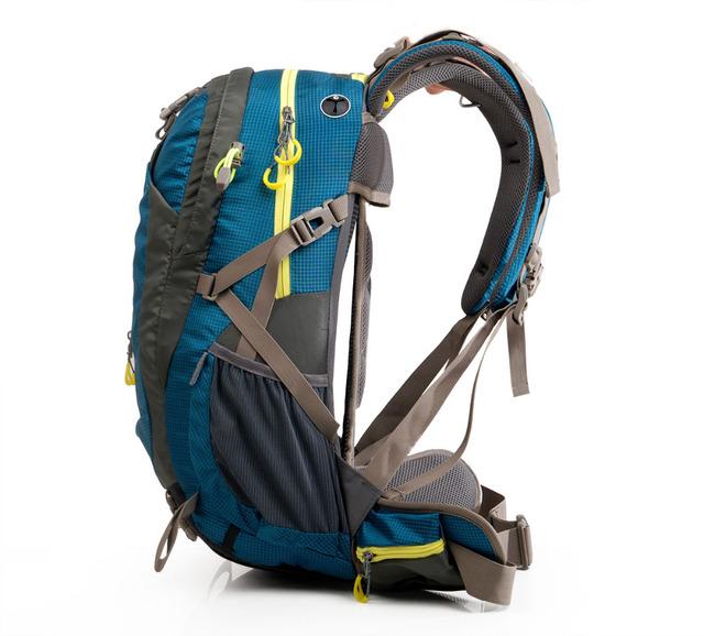 Maleroads Camping Backpack Hiking Backpack for Men Wowen Travel Rucksack Climb Gear Trekking Bagpack Waterproof Sport Bag 50L
