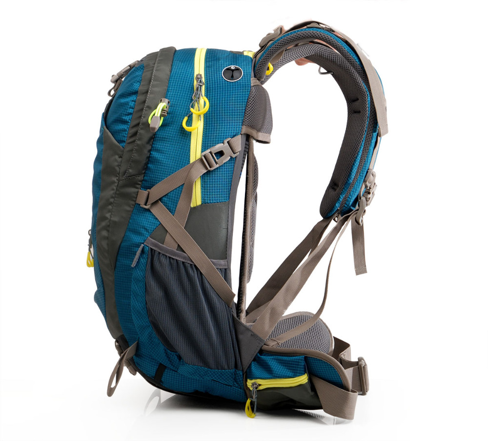 Maleroads Multi-viruela Campamento Caminata Alpinismo Mochila de Viaje Mochila para Hombres Wowen Subida Engranaje Trekking Mochila Portátil de Nuevo 50L - 2