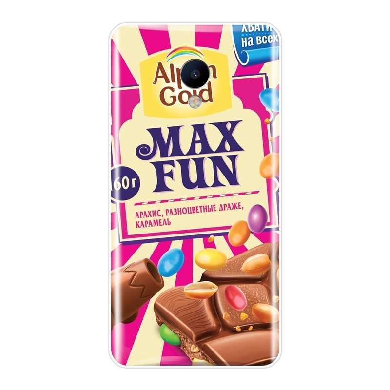 Chocolat drôle Russe coque de téléphone En Silicone Pour Meizu M2 M3 M3S M5 M5C M5S M6 M6S M6T Couverture Arrière Souple Pour Meizu M2 M3 M5 M6 Note