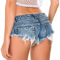 NORMOV Fashion Summer Sexy Shorts Women Jeans Mini Denim Booty Shorts Casual Ladies Club Party Super Short feminino Skinny Shors