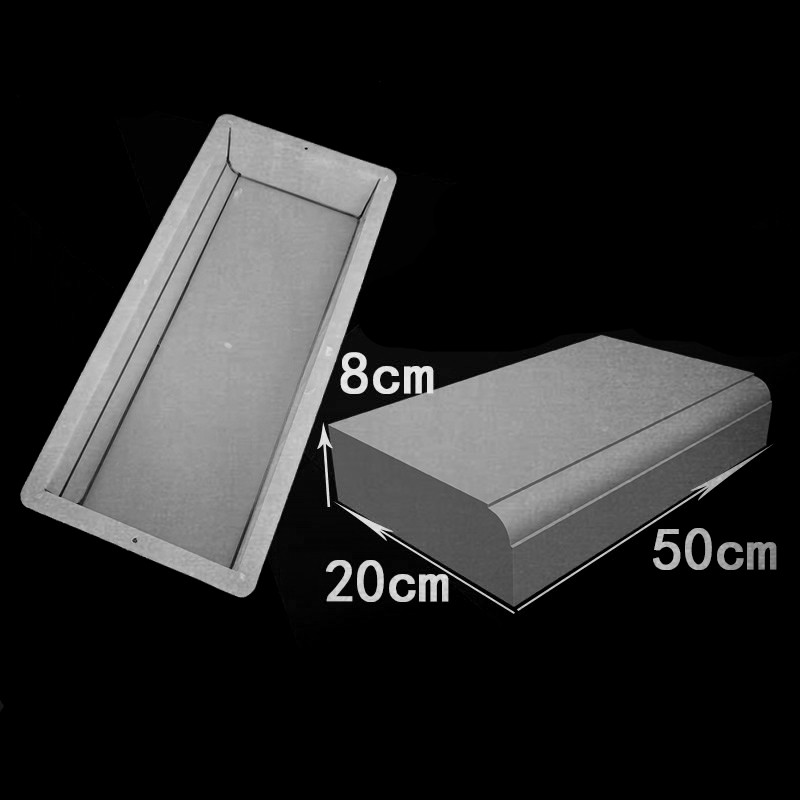 Road Side Stone Plastic Mold Highway Garden Path Cement Road Roadside Paving Concrete Mould