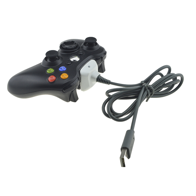 For Xbox 360 Black Wireless Controller USB Charging Cable Wire ...