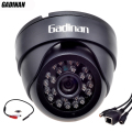 Gadinan ONVIF Wired Audio IP Camera H.264 Network P2P CCTV Indoor Dome Camera With External Audio Pickup 720P/960P/1080P