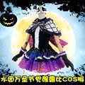 [Апрель Акции] Аниме Lovelive Солнце! Aqours Рубин Хэллоуин Пробудить Полный комплект Gothic Lolita dress косплей костюм дьявол lover НОВЫЙ