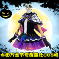 [April Stock]Anime Lovelive Sunshine!! Aqours Ruby Halloween Awaken Full set Gothic Lolita dress cosplay costume Devil lover NEW