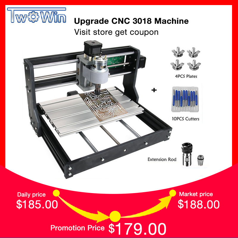 New CNC 3018 Pro GRBL Control Diy mini cnc Machine,3 Axis pcb Milling Machine,Wood Router Laser Engraving with OfflineNew CNC 3018 Pro GRBL Control Diy mini cnc Machine,3 Axis pcb Milling Machine,Wood Router Laser Engraving with Offline